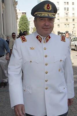 El coronel Juan Luis Martin estaba a cargo de adquisiciones: