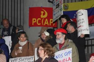 Acto de solidaridad con el pueblo de Venezuela. Fotos Umberto Alarcón. Vancouver, Canada