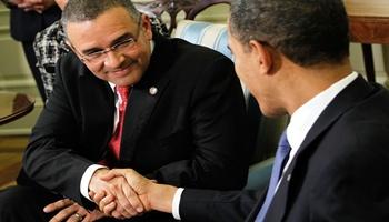 Obame se reunirá con Presidente Funes en El Salvador
