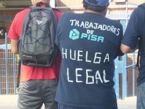 29 días de huelga cumplen los 196 trabajadores afiliados al Sindicato Nº 2 de la empresa Papeles Industriales SA (PISA).