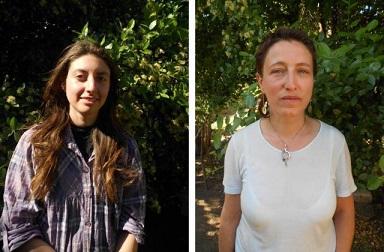 ciudadanas italianas Luisa Costalbano y Valentina Fabbri