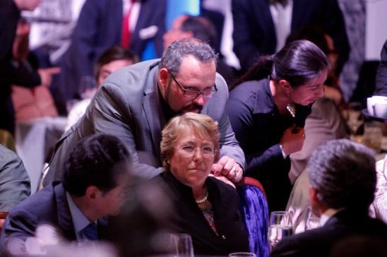 Cena de recolección de fondos de Bachelet