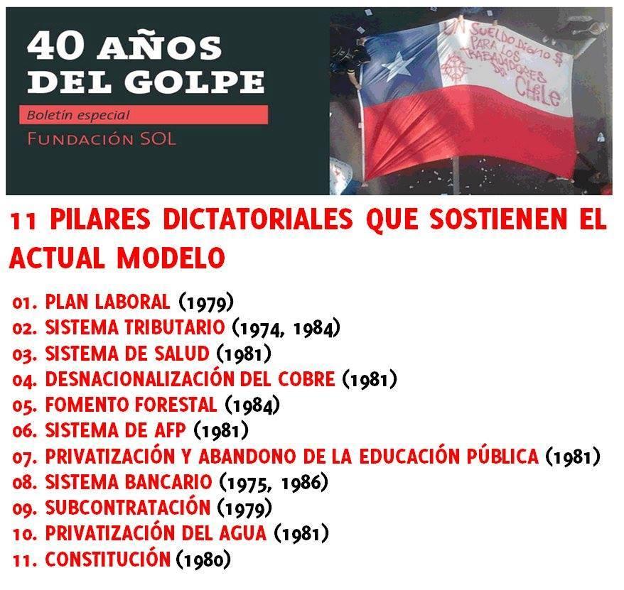 """Resultado de imagen de El CHILE de la """"SOCIALISTA"""" MICHELLE BACHELET, como el socialismo europeo, en MANOS de la DICTADURA NEOLIBERAL"""