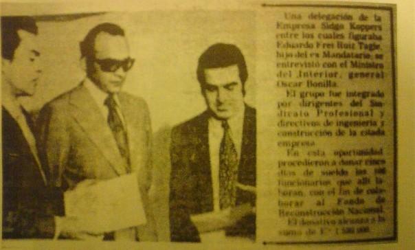 Frei Ruiz-Tagle fue a entregar sus salarios a la Junta Militar (para que no me olvides...)